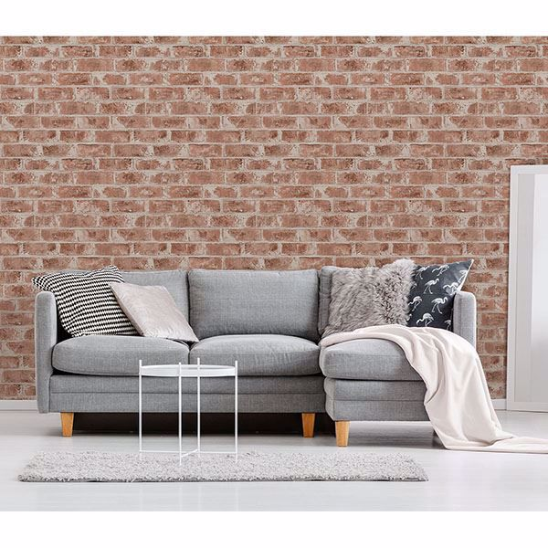 Picture of Jomax Red Warehouse Brick Wallpaper