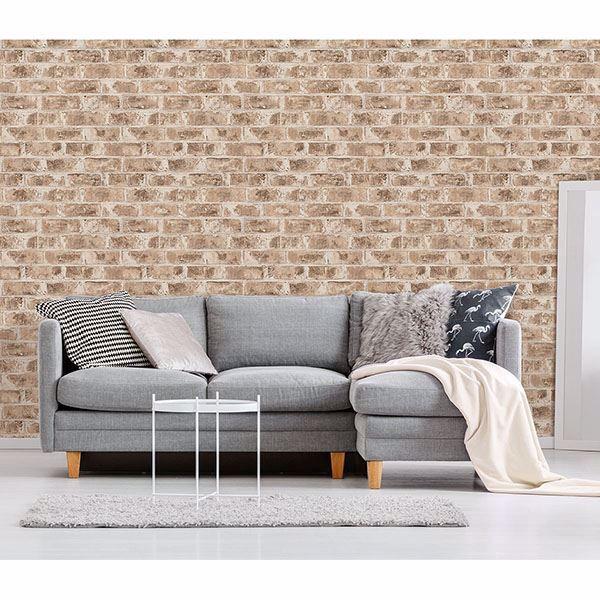 Picture of Jomax Neutral Warehouse Brick Wallpaper