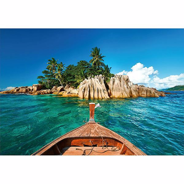 Picture of St. Pierre Island At Seychelles Wall Mural
