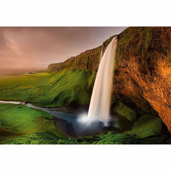 Picture of Waterfall In Iceland Wall Mural