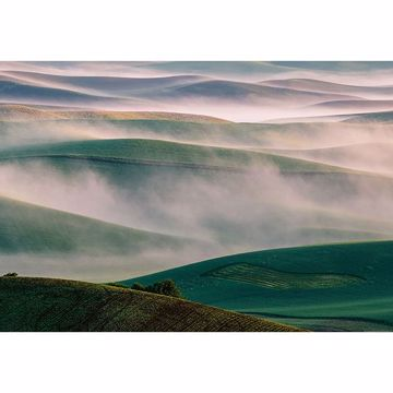 Picture of Foggy Hills Wall Mural