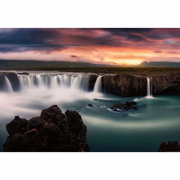 Picture of Silky Waterfalls Wall Mural