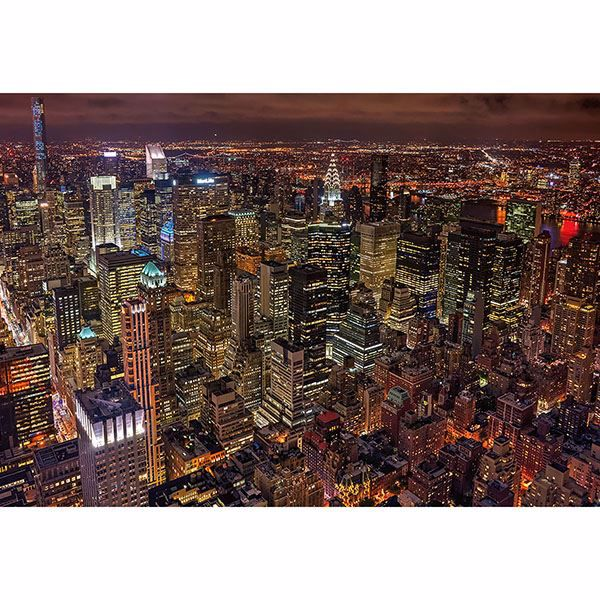 Picture of Lights Of New York Wall Mural