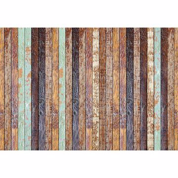 Picture of Vintage Wooden Wall - Wall Mural