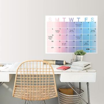 Picture of Serenity Monthly Dry Erase Calendar Decal