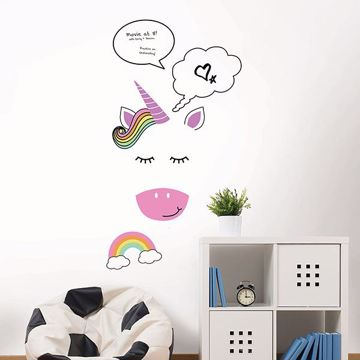 Picture of Unicorn Moods Giant Dry Erase Message Board