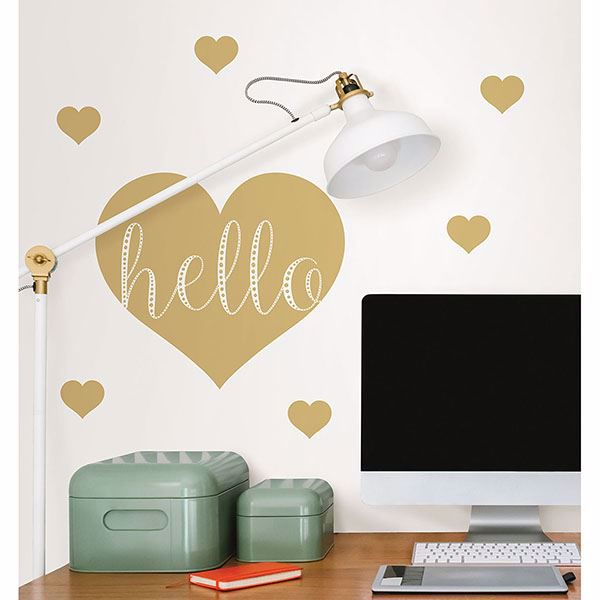 Picture of Hello Wall Quote Decals
