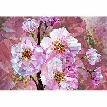 Picture of Blooming Gems Wall Mural
