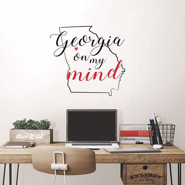 Picture of Georgia Wall Art Kit