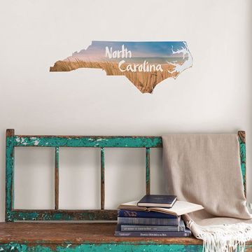 DWPK2912 North Carolina Wall Decal