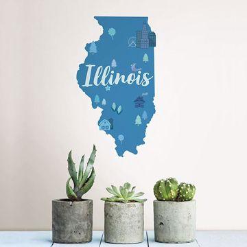 Picture of Illinois Wall Art Kit