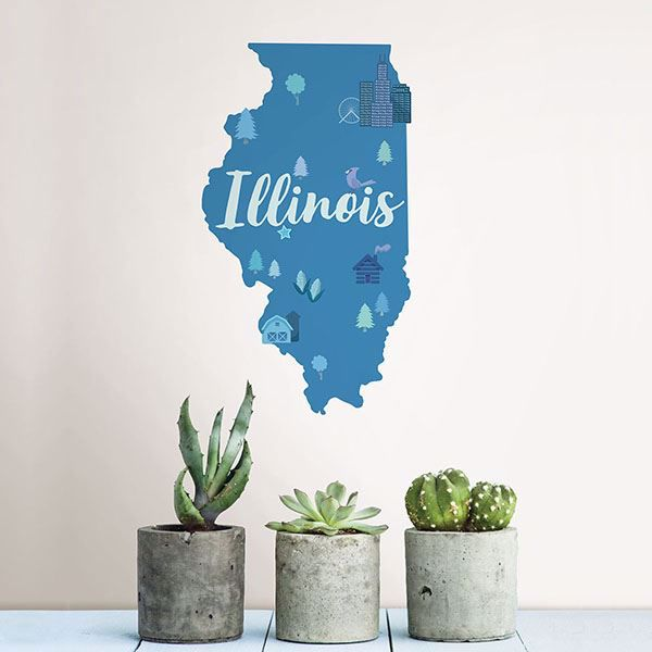 Picture of Illinois Wall Art Kit