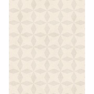 Picture of Frey Cream Geometric Wallpaper