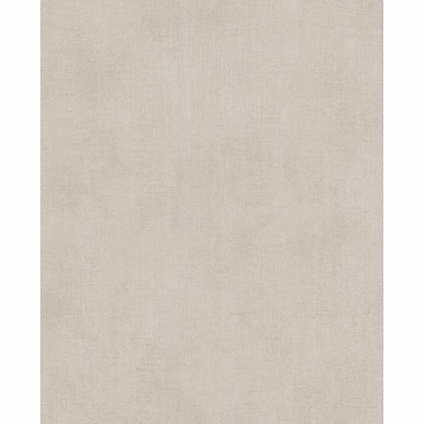 Picture of Agata Beige Linen Wallpaper