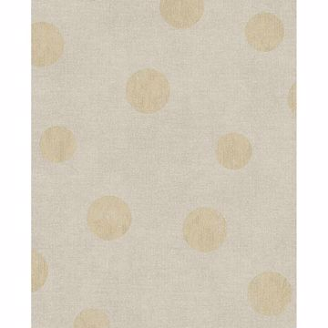 Picture of Caro Beige Polka Dots Wallpaper