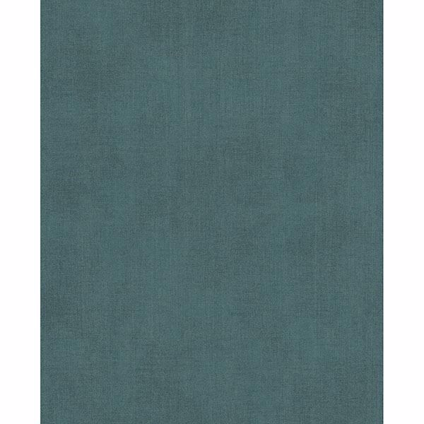 Picture of Agata Teal Linen Wallpaper