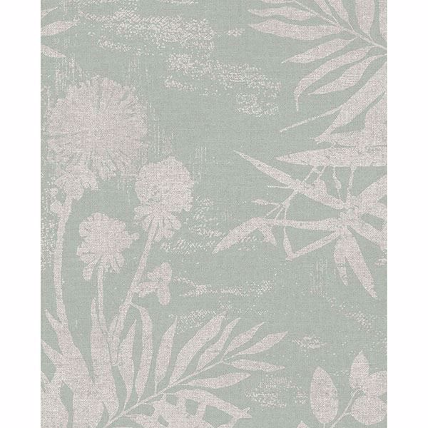 Picture of Hedda Light Green Botanical Wallpaper