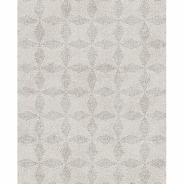 Picture of Frey Light Grey Geometric Wallpaper