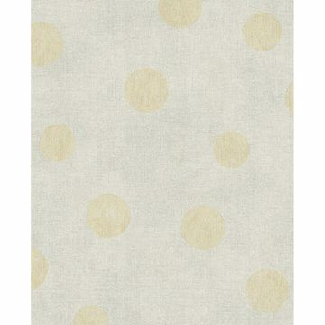 Picture of Caro Neutral Polka Dots Wallpaper