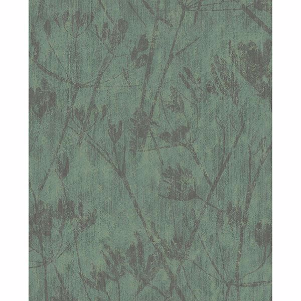 Picture of Jens Green Branches Wallpaper