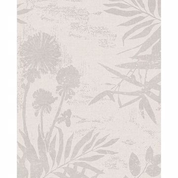 Picture of Hedda Off-White Botanical Wallpaper