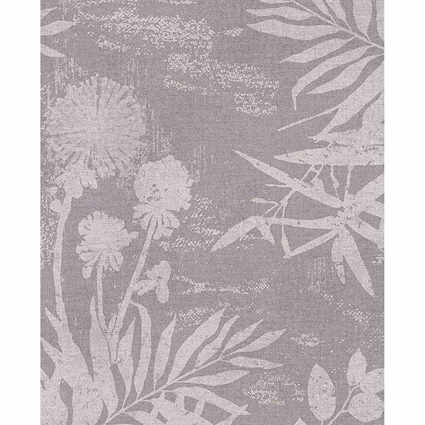 Picture of Hedda Mauve Botanical Wallpaper