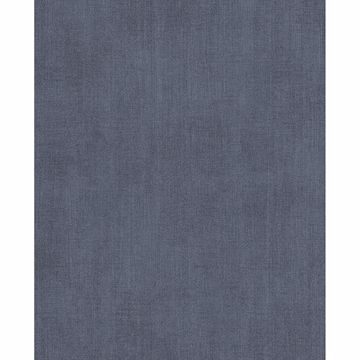 Picture of Agata Blue Linen Wallpaper
