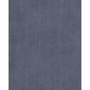 Picture of Agata Blue Linen Wallpaper