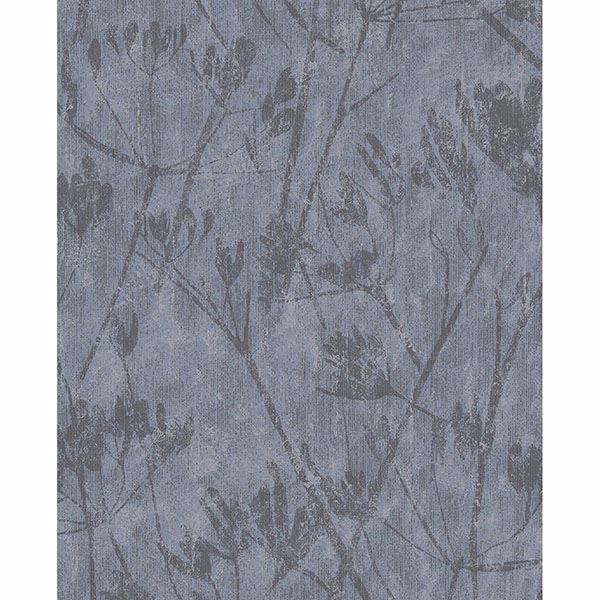 Picture of Jens Blue Branches Wallpaper