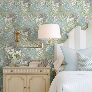 Picture of Jasmine Meadow Botanical Wallpaper by Sarah Richardson