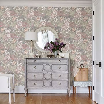 Picture of Jasmine Petal Botanical Wallpaper by Sarah Richardson
