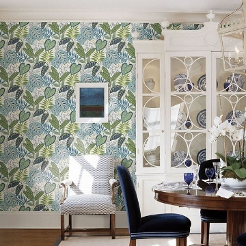 Picture of Jasmine Aegean Botanical Wallpaper by Sarah Richardson