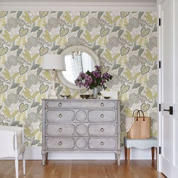 Picture of Jasmine Citrine Botanical Wallpaper by Sarah Richardson