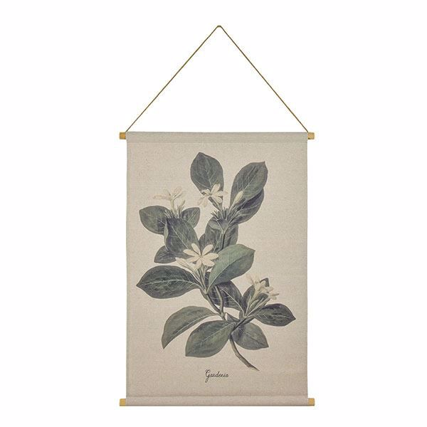 Picture of Gardenia Hanging Linen Tapestry