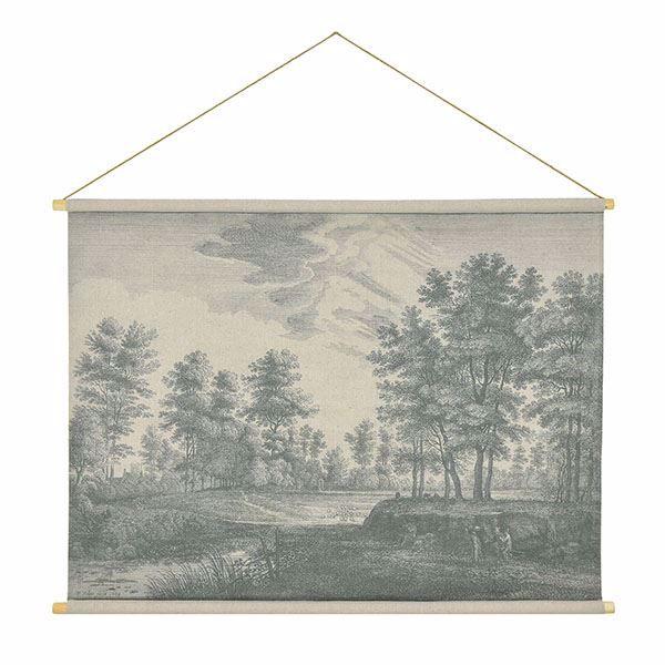 Picture of Flemish Landscape Hanging Linen Tapestry