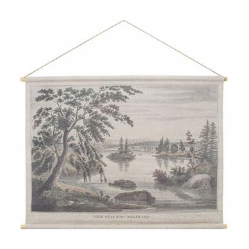 Picture of Fort Miller Hanging Linen Tapestry