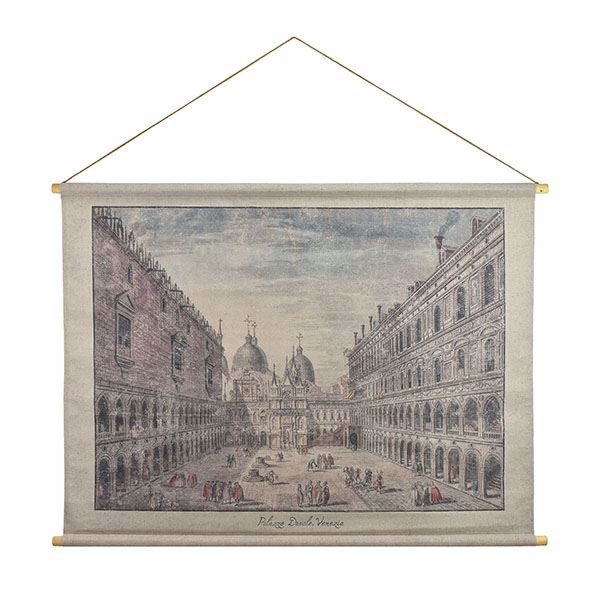 Picture of Palazzo Ducale Hanging Linen Tapestry