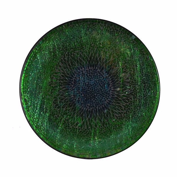 Picture of Teal Mosaic Plate