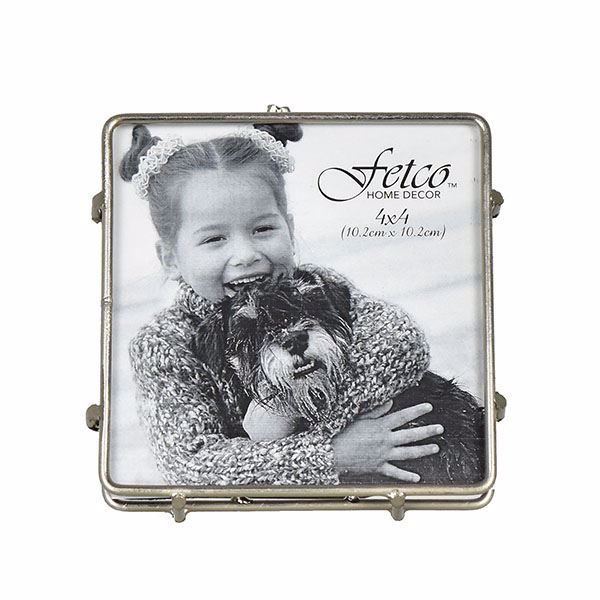 Picture of Franco Pewter 4x4 Press Picture Frame