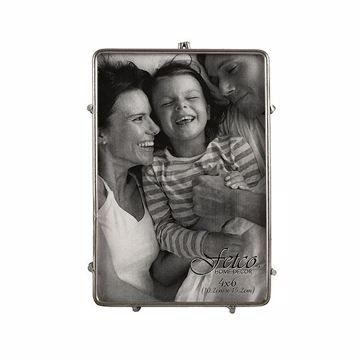 Picture of Franco Pewter 4x6 Press Picture Frame