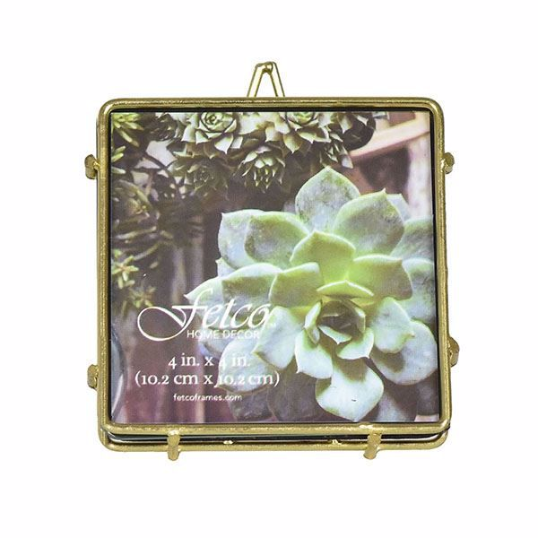 Picture of Franco Gold 4x4 Press Picture Frame