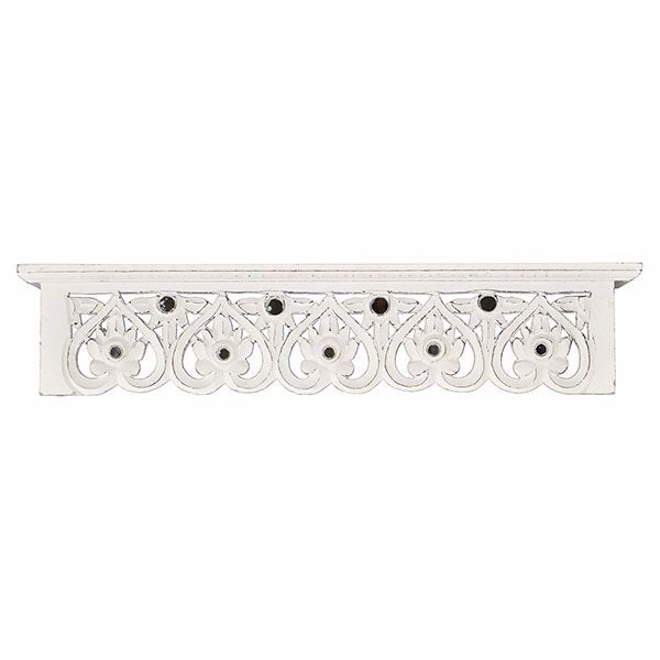 Picture of Calber 24 Inch White Decorative Shelf