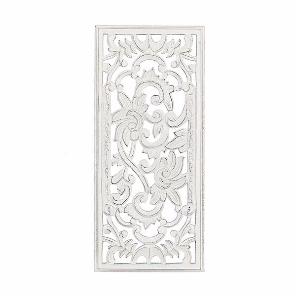 Picture of Kolbi White Hand Carved Panel