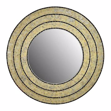 Picture of Sahlu Cream Mosaic Mirror