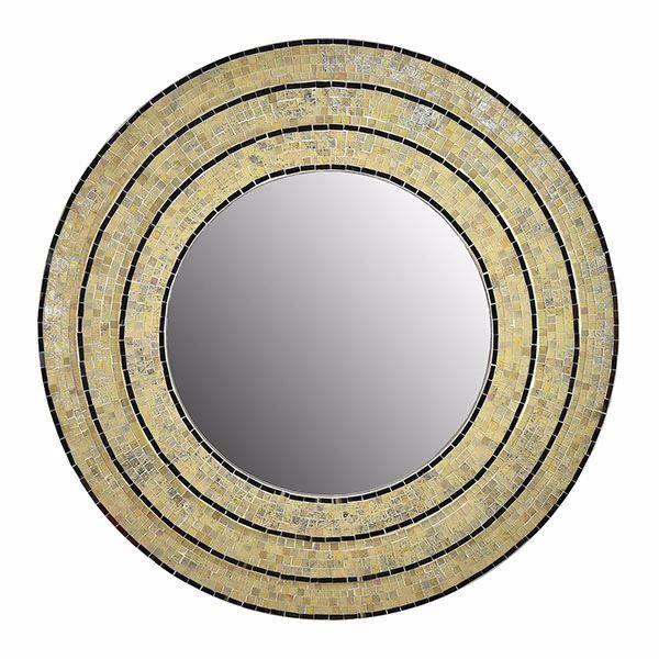 Picture of Sahlu Cream Mosaic Mirror