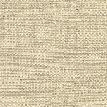 Picture of Caviar Cream Basketweave Wallpaper