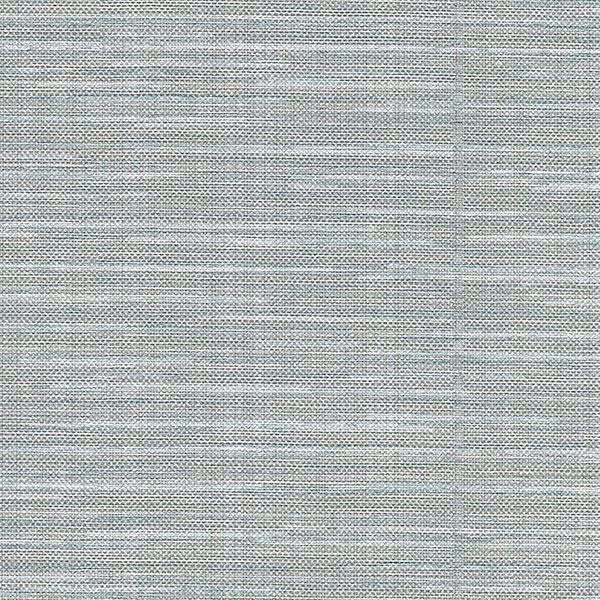 Picture of Bay Ridge Blue Linen Texture Wallpaper