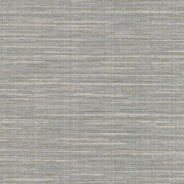 Picture of Bay Ridge Grey Linen Texture Wallpaper