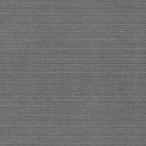 Picture of Oscar Charcoal Faux Fabric Wallpaper