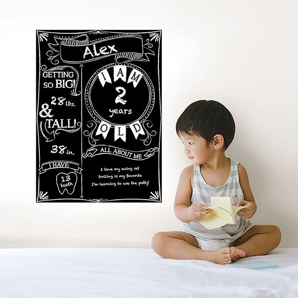Picture of Monthly Milestone Chalkboard Decal